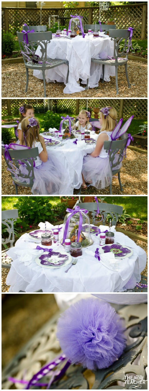 Flower Fairy Party by The Party Teacher - dining table