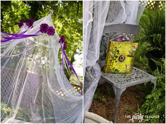Flower Fairy Party by The Party Teacher - fairy bower
