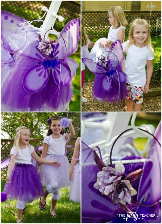 Flower Fairy Party by The Party Teacher - fairy costumes