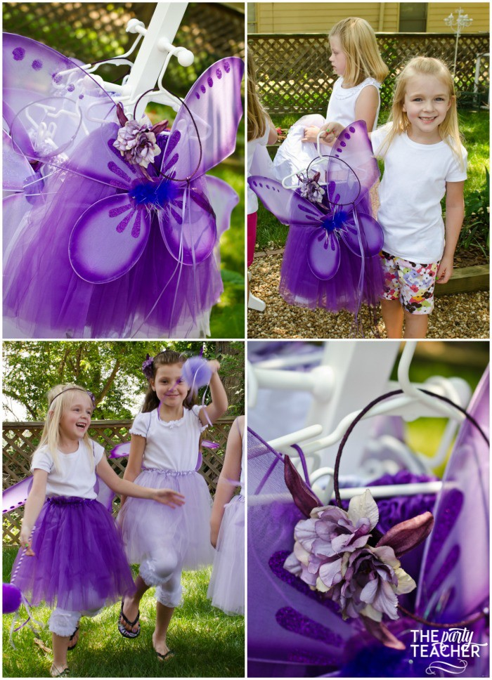 Flower Fairy Party by The Party Teacher - fairy costumes with tutus, wings and flower halos