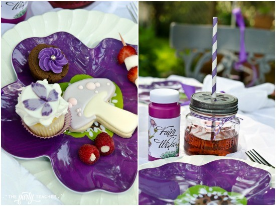 Flower Fairy Party by The Party Teacher - place setting