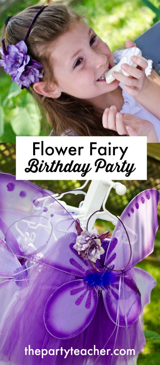 How to plan a Flower Fairy Birthday Party by The Party Teacher