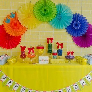 My Parties: Wizard of Oz 7th Birthday Party