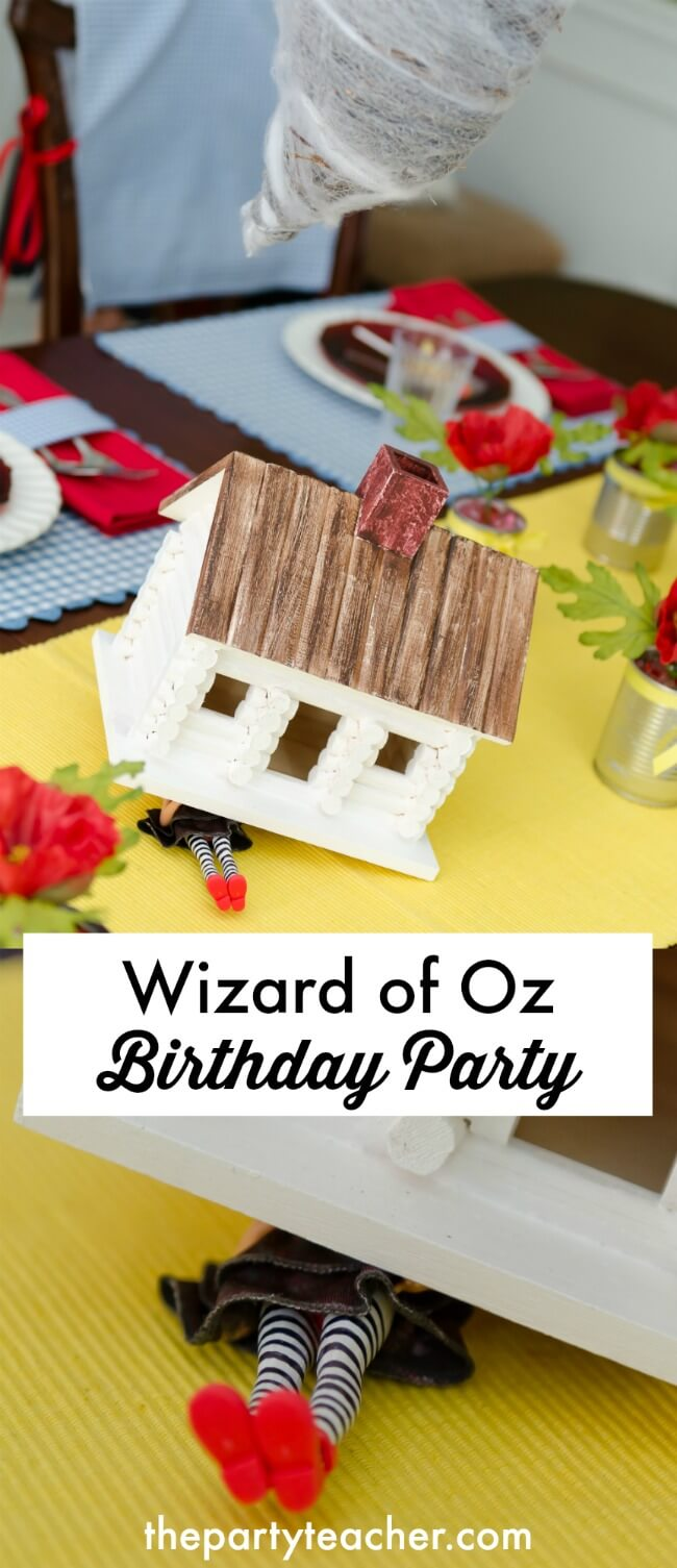 Wizard of Oz birthday party ideas by The Party Teacher