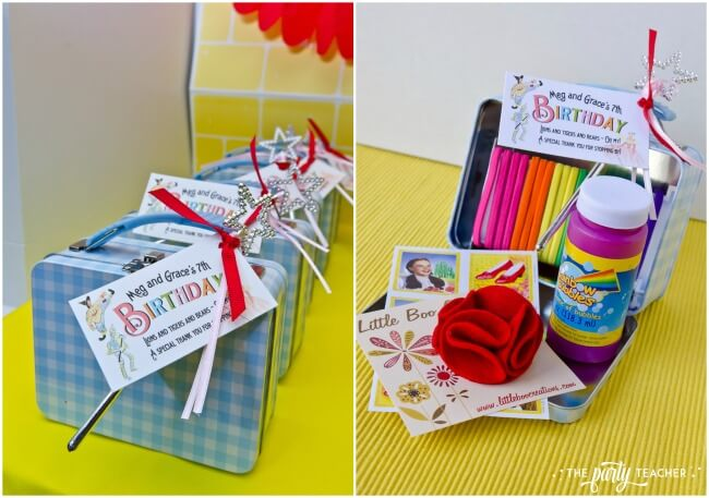 Wizard of Oz party by The Party Teacher - party favors