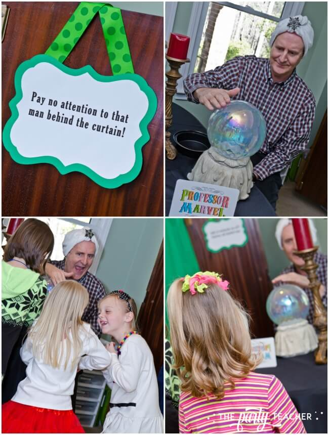 Wizard of Oz party actitvities by The Party Teacher