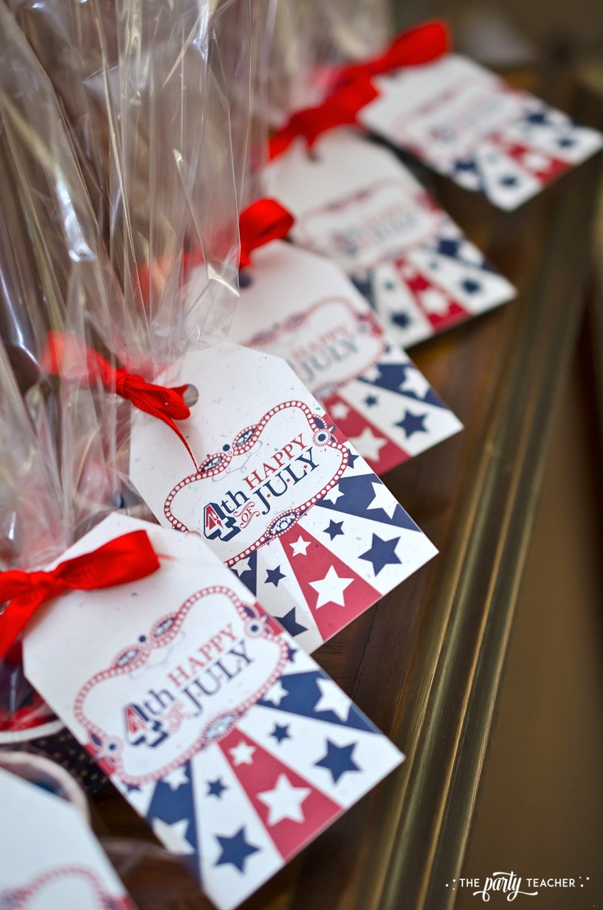 4th of July Party by The Party Teacher - party favors