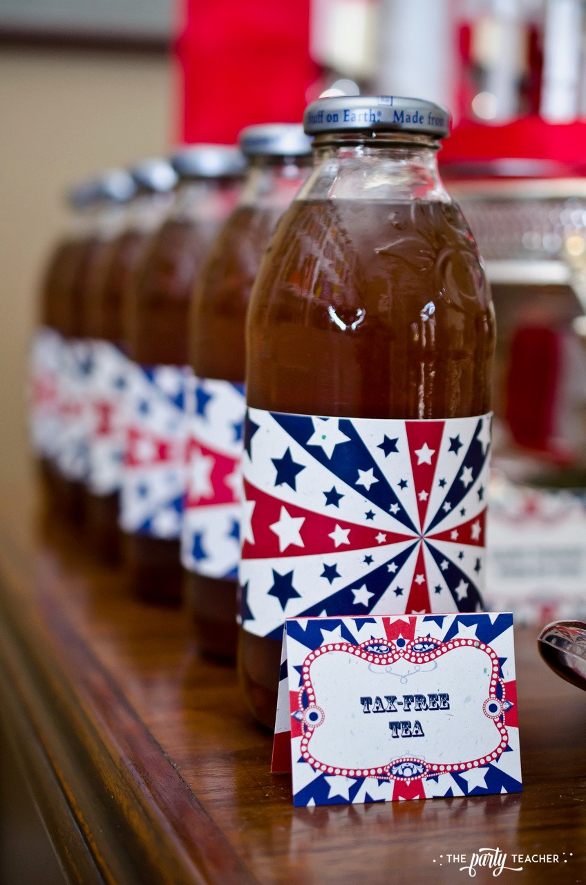 4th of July Party by The Party Teacher - tax-free tea