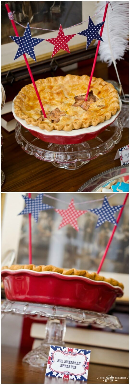 Grandma's apple pie recipe by The Party Teacher - so easy to make and perfect for your 4th of July party