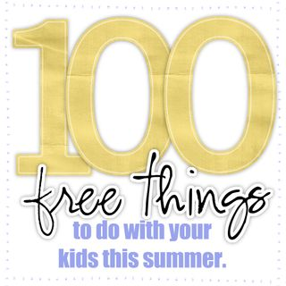 100 free things summer