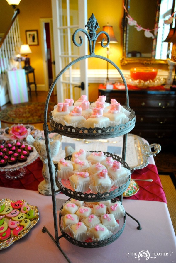 Bird Baby Shower by The Party Teacher - Petit Fours