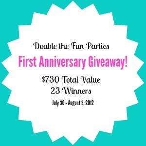First Anniversary Giveaway – $730 in Prizes to 23 Winners!