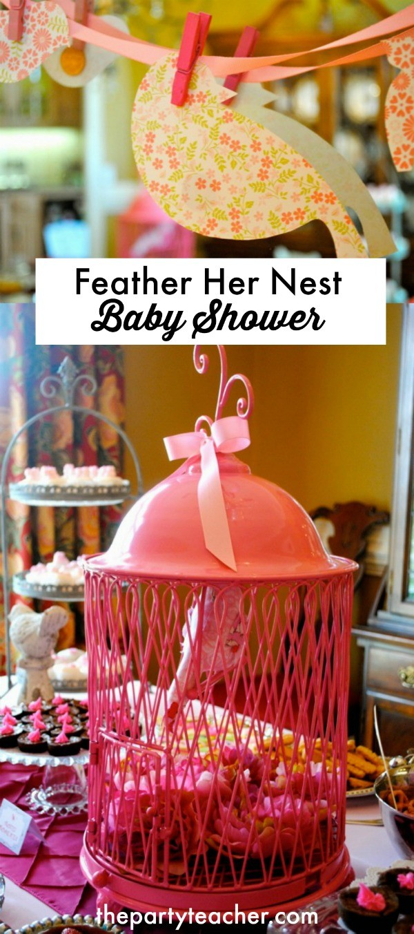 Feather Her Nest Baby Shower by The Party Teacher