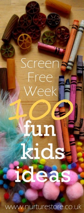 Screen Free Week Ideas
