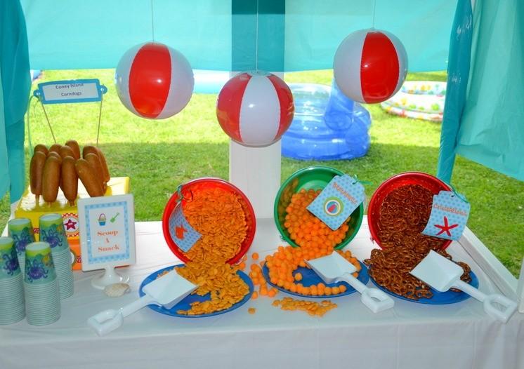 Guest Party Backyard Beach Bash