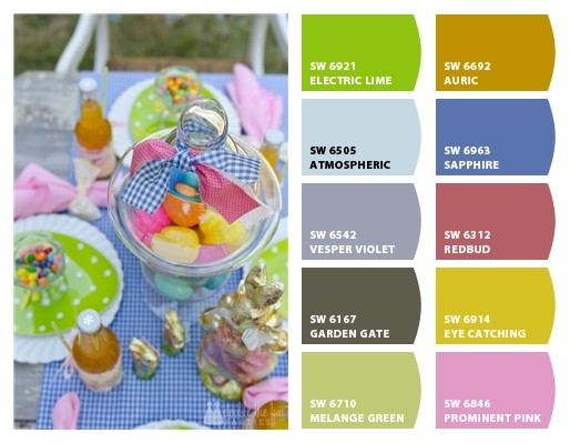 Easter Party Color Palette