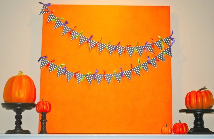 Halloween Canvas Bunting-850x551