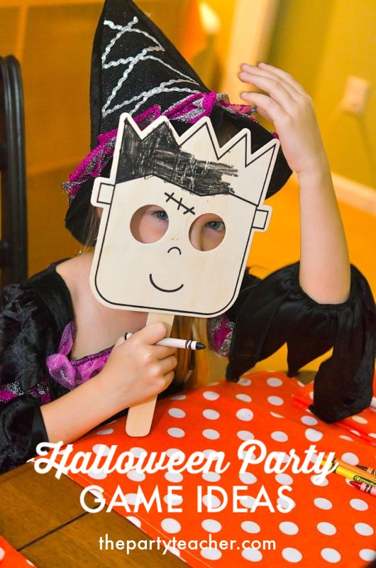 Halloween Party Game Ideas by The Party Teacher