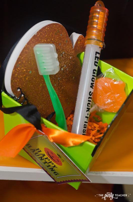 Halloween trick or treat party by The Party Teacher - party favors