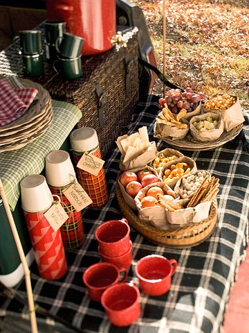 Tailgating party from Better Homes & Gardens