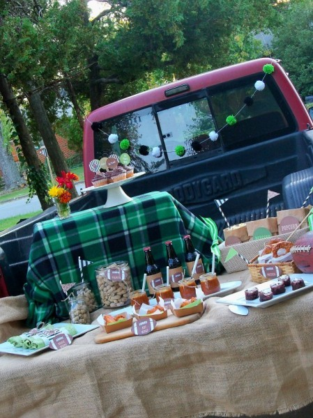 Tailgating party by MG Party Impressions
