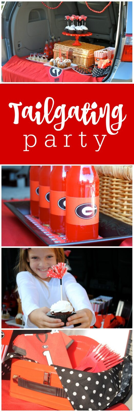 Tailgating Party - UGA Party by The Party Teacher
