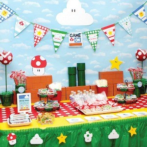 Inspiration: Super Mario Brothers Parties
