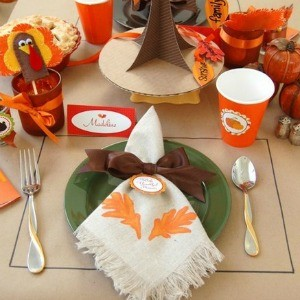 Inspiration: Thanksgiving Children's Tables