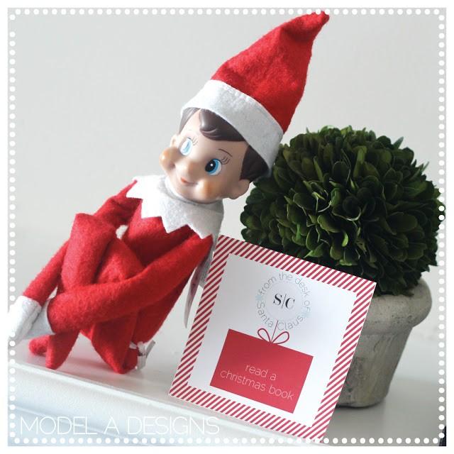 FF Model A Designs Elf Advent