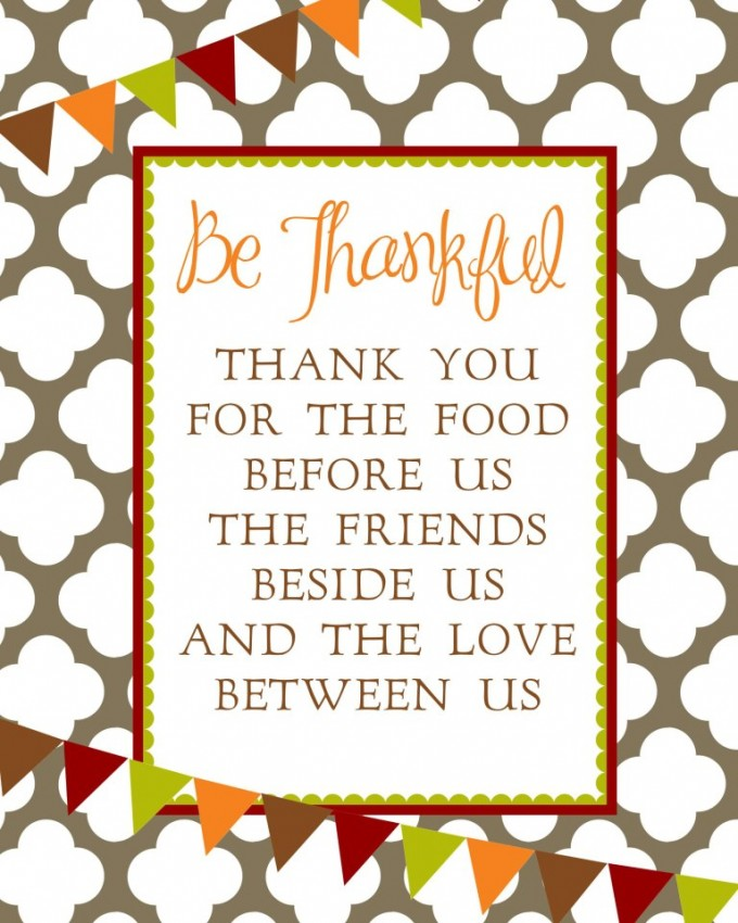 Sweet Mady Thanksgiving free printables