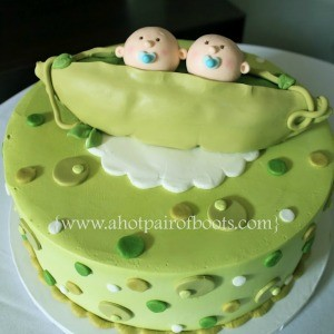 Twins: Birthday Party Cakes for Twins