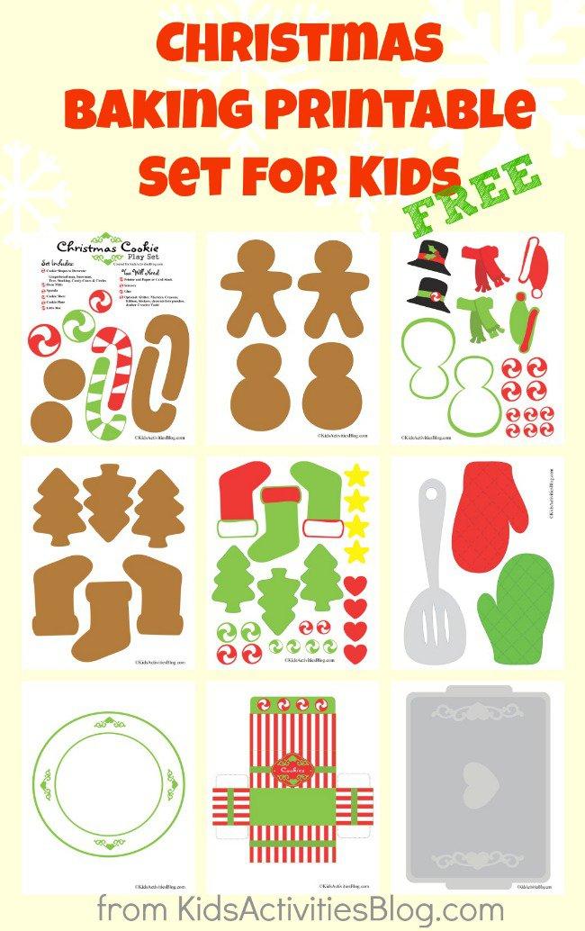FF Kids Activities Blog Christmas-printables-set-for-kids