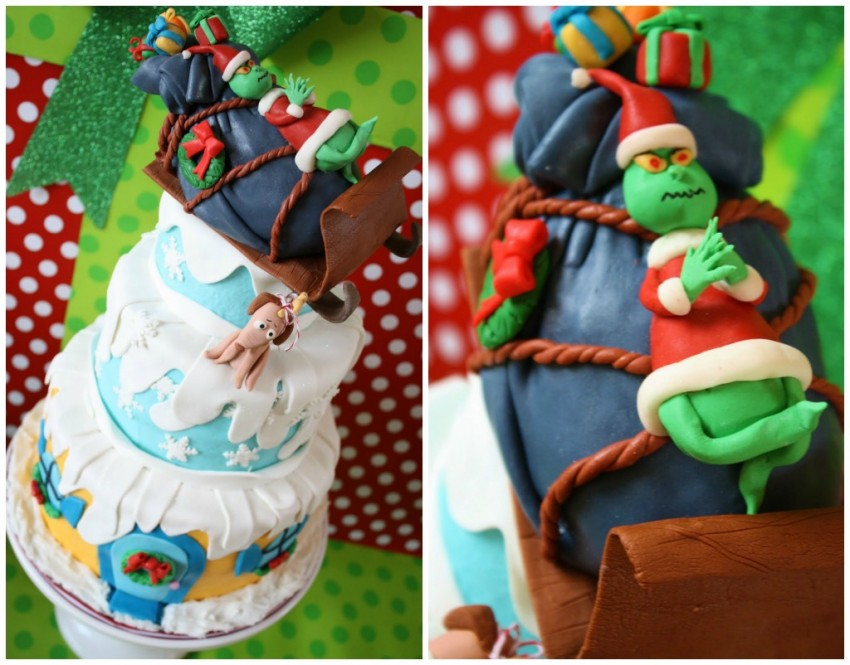 Guest Party Grinch First Birthday Party