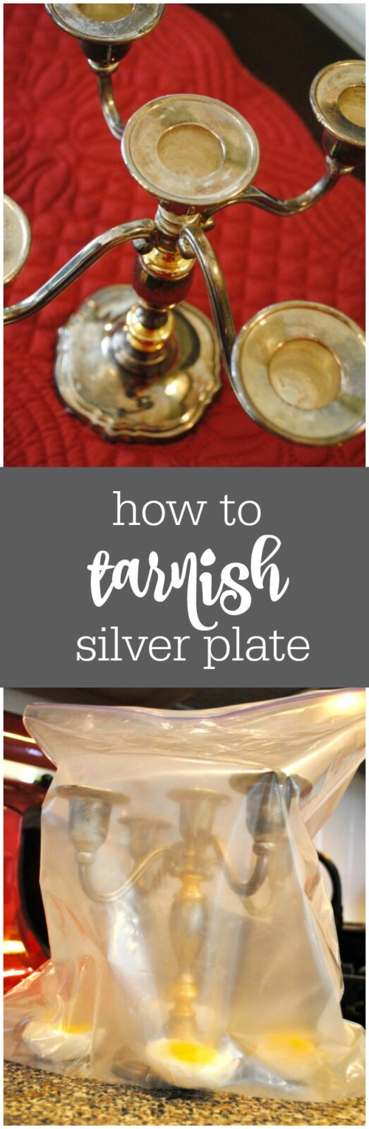 How to tarnish silver or silver plate by The Party Teacher