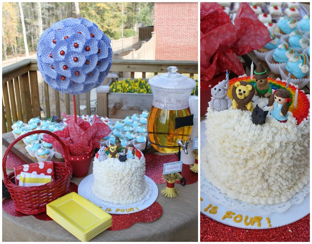 Guest Party Wizard Of Oz 4th Birthday Party