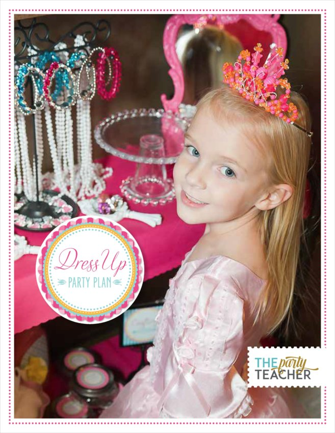 Dress Up Party Plan by The Party Teacher - the party's planned for you!