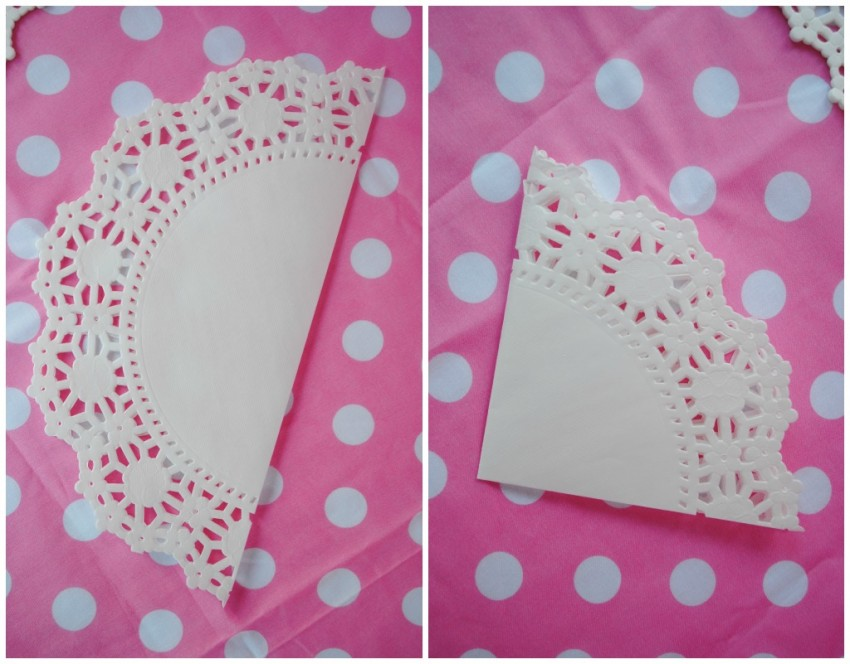 Doily Collage