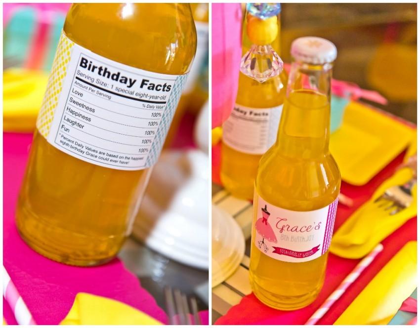 Dress Up Bottle Collage