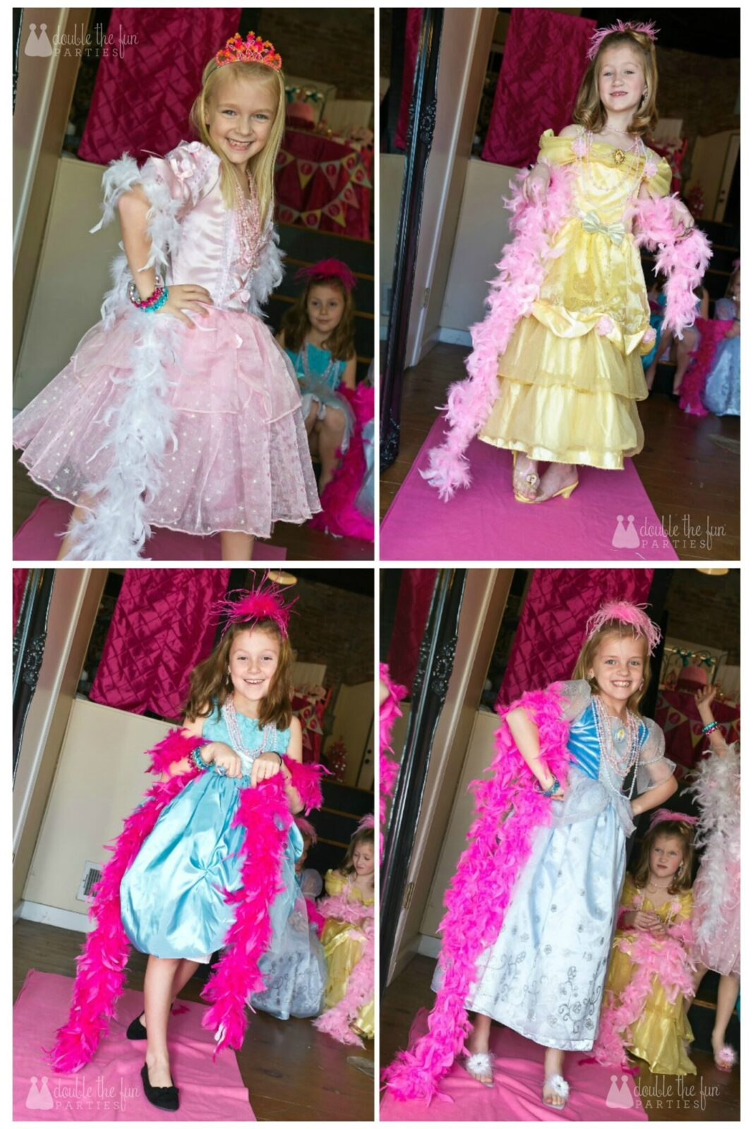 Dress Up Party fashion show by Double the Fun Parties wm