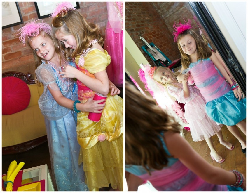 Dress Up Tulle Collage
