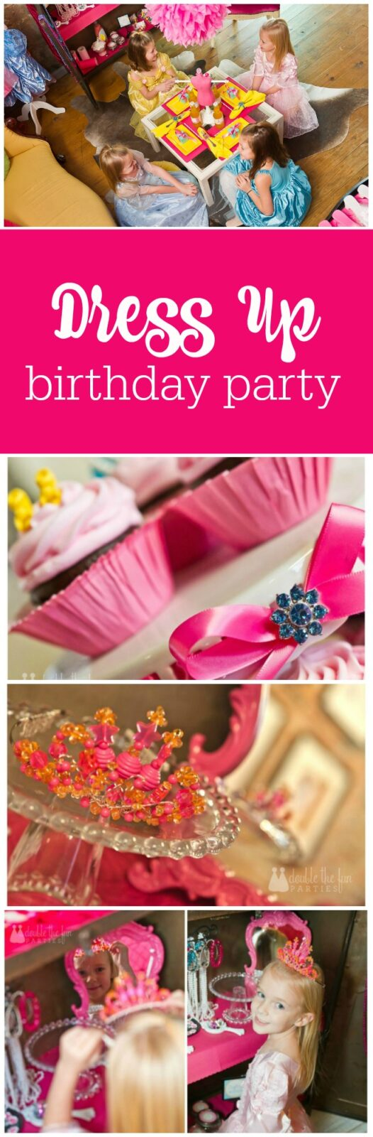 Dress up birthday party by The Party Teacher