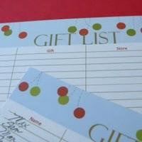 FFs Christmas Planner Carolyn's Homework