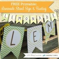 FFs lemonade Bitsy Creations via Somewhat Simple