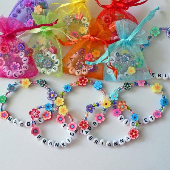 Flower Lei Bracelets