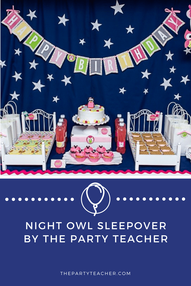 Night Owl Sleepover Party