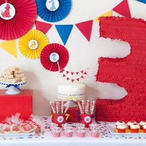 Guest Party: Big Red Third Birthday Party