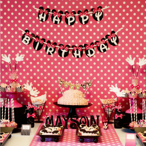 Guest Party: Minnie Mouse 5th Birthday Party