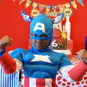 Guest Party: Superhero 6th Birthday Party