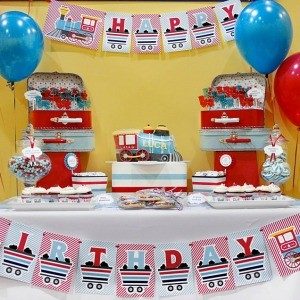 Guest Party: Choo-Choo Train 4th Birthday Party