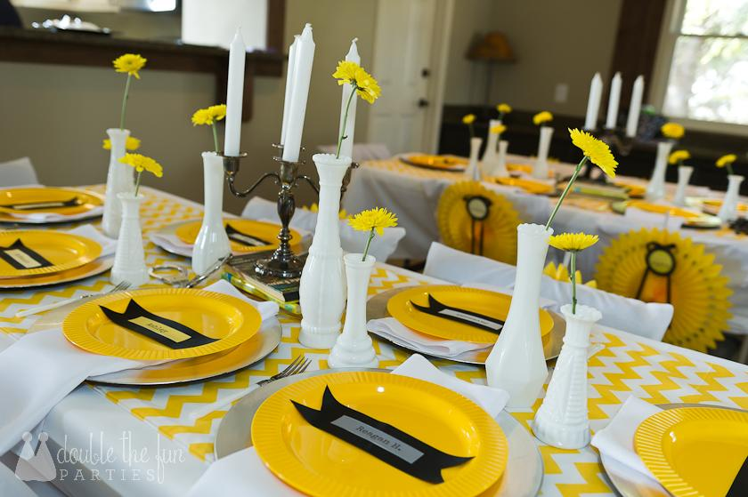 DFP mystery party tables